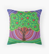 The Apple Tree of Knowledge Throw Pillow
