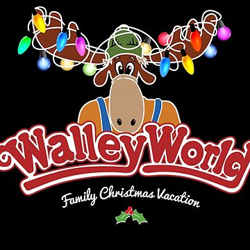 Walleyworld - Christmas  Vacation Black by Purakushi