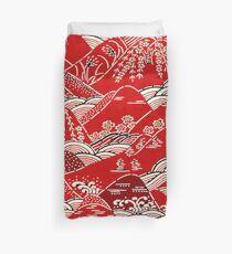 Japanese Pattern Duvet Cover