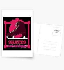 Skating makes you happy Postcards