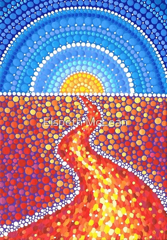 Quot Desert Path Quot By Elspeth Mclean Redbubble