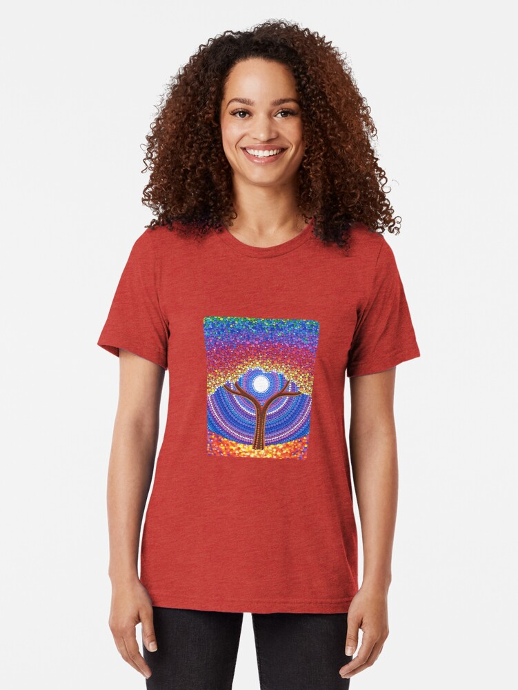 Alternative Ansicht von Secret Life of Trees Vintage T-Shirt