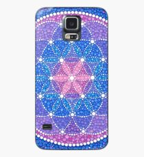 Starry Flower of Life Case/Skin for Samsung Galaxy