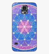 Starry Flower of Life Hülle & Klebefolie für Samsung Galaxy