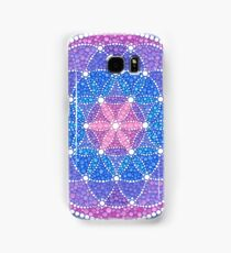 Starry Flower of Life Samsung Galaxy Case/Skin
