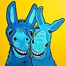 Happy Island Donkey's by Mirjam Griffioen