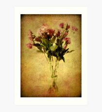 Rose Collector Art Print