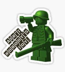 Ain't Nobody's Toy Sticker