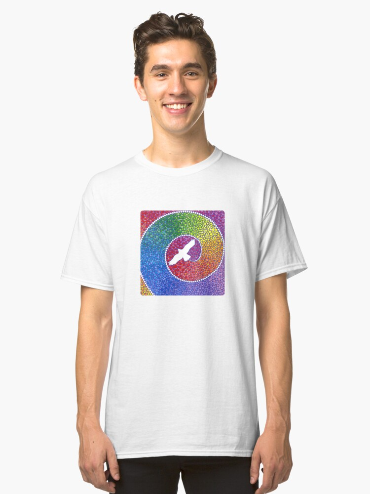 Healing magic from the flight of the Eagle Classic T-Shirt Front