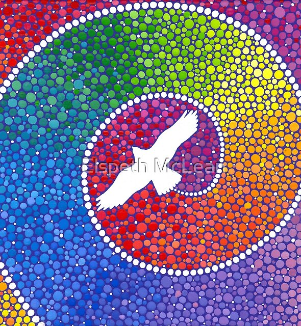 Healing magic from the flight of the Eagle by Elspeth McLean