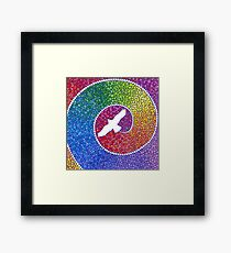 Healing magic from the flight of the Eagle Framed Print