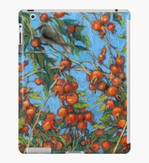 Sparrow Among In a Dog Rose Bush iPad Case/Skin