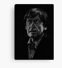 Patrick Troughton, the second Doctor Canvas Print