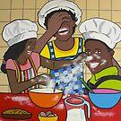 Happy Kitchen Crew by Mirjam Griffioen