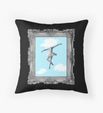 DANCING HIGH Throw Pillow