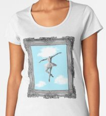 DANCING HIGH Women's Premium T-Shirt