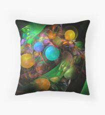 Jellied sweets Throw Pillow