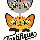 Cat Team Tortifique by Liis Roden