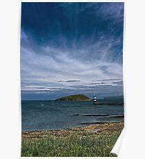 Penmon seascape Poster