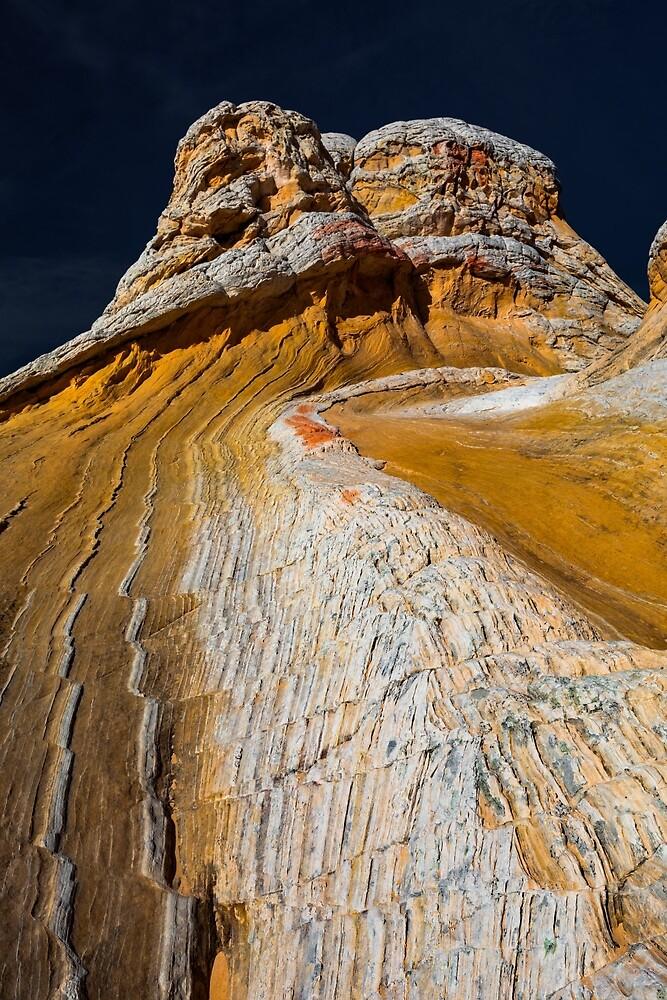Zig Zag Stripes at White Pocket by photosbyflood