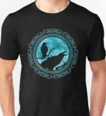 Camiseta ajustada Cuervos Hugin Munin Odins
