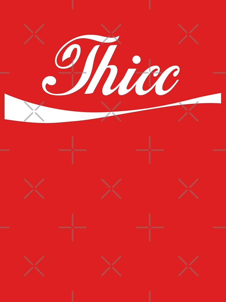 """Logo de Coca-Cola """"Thicc"""" de Doge21"""