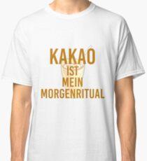 Cocoa morning ritual Classic T-Shirt