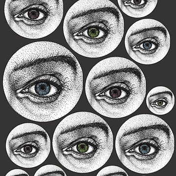 Realistic colorful eyes by Surrealist1