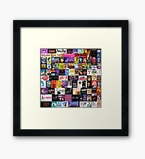 MUSICALS! (Duvet, Clothing, Book, Pillow, Sticker, Case, Mug etc)  Framed Print