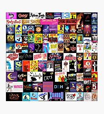 MUSICALS! (Duvet, Clothing, Book, Pillow, Sticker, Case, Mug etc)  Photographic Print