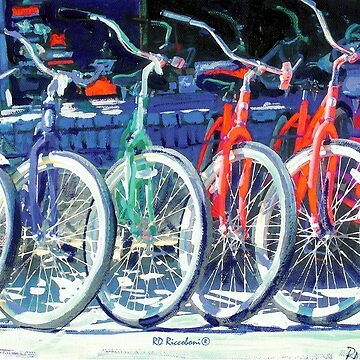 Riccoboni Bikes in A Row Bicycles by RDRiccoboni