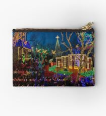 SDC Christmas Midtown Greetings Zipper Pouch