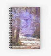 A Wave Of Healing Spiral Notebook