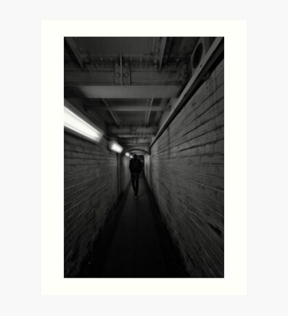 Northwick Park Tube Station Art Print