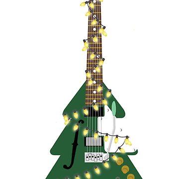 Christmas Guitar! by kcgfx
