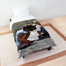 Children Playing Comforter