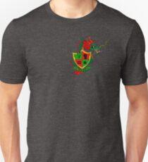 BUSHMAN FEDERATION | Coat of Arms (Logo Style) Slim Fit T-Shirt