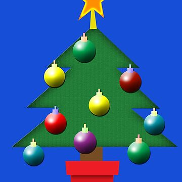 Christmas tree by ToneCartoons