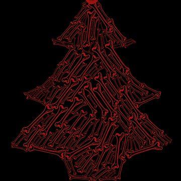 Skull Christmas tree by kcgfx