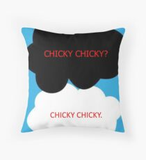 Chicky Chicky Throw Pillow
