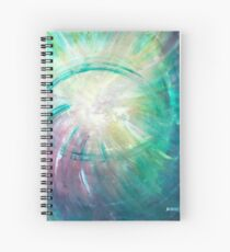 We Are The Eye Of The Storm Spiral Notebook