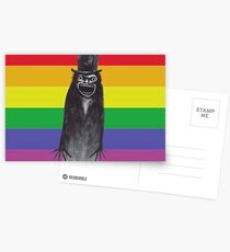 The Babadook Gay Pride Print Postcards