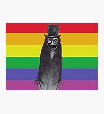 The Babadook Gay Pride Print Photographic Print
