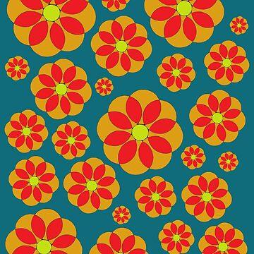 Hippie Daisy Flower by Surrealist1
