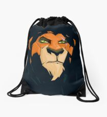 Scar  Drawstring Bag