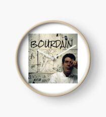 Thank you, Anthony Bourdain  Clock