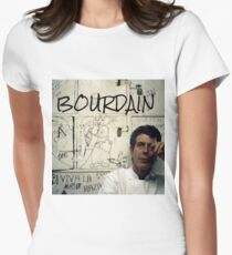 Thank you, Anthony Bourdain  Women's Fitted T-Shirt