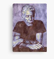 Anthony Bourdain Canvas Print