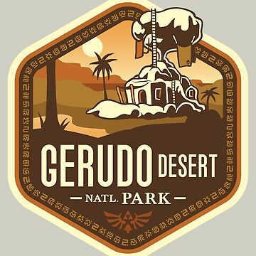 Gerudo Desert National Park by knightsofloam
