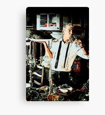 Anthony Bourdain 2 Canvas Print